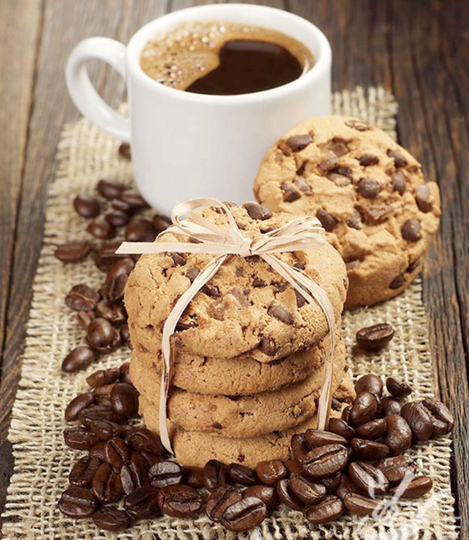 Biscotti al caffè immagine