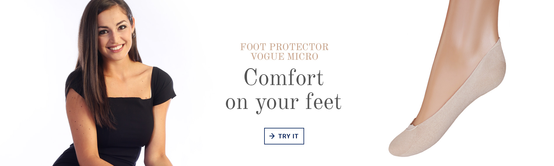 Foot protector Vogue Micro, comfort on your feet