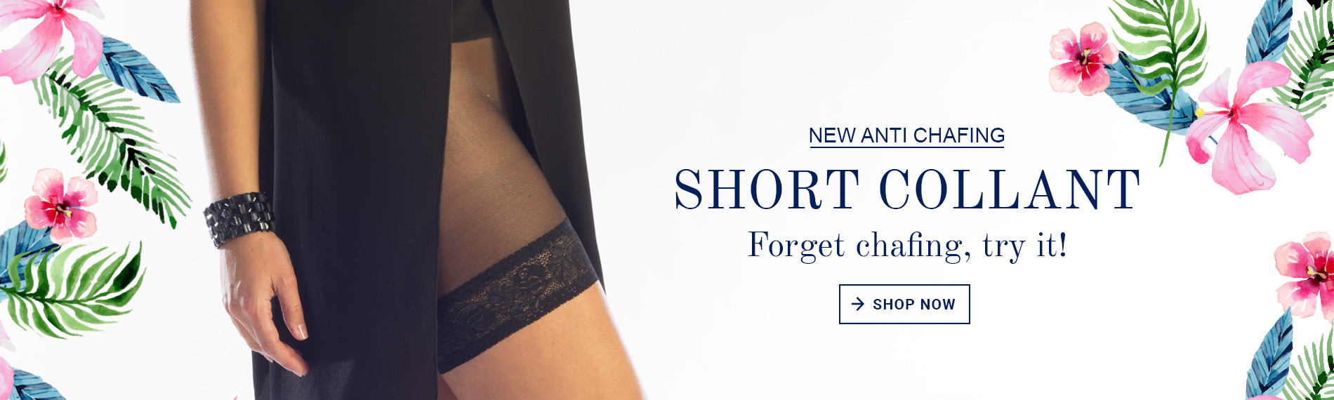 Short collant, forget chafing, try it!